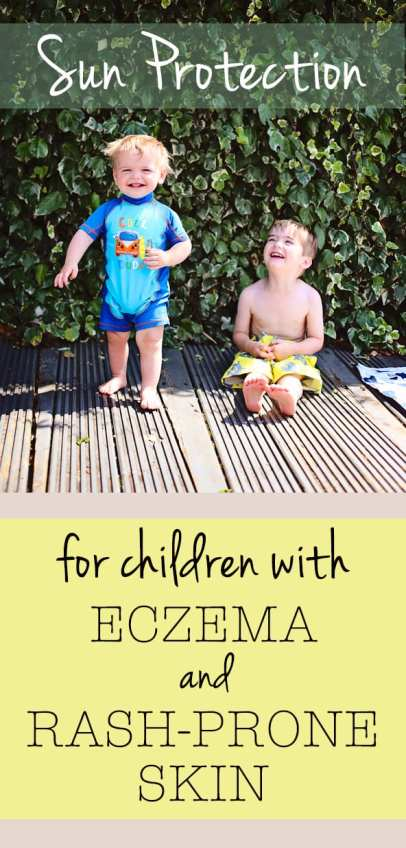 sun lotion for children with ezcema and rash prone skin