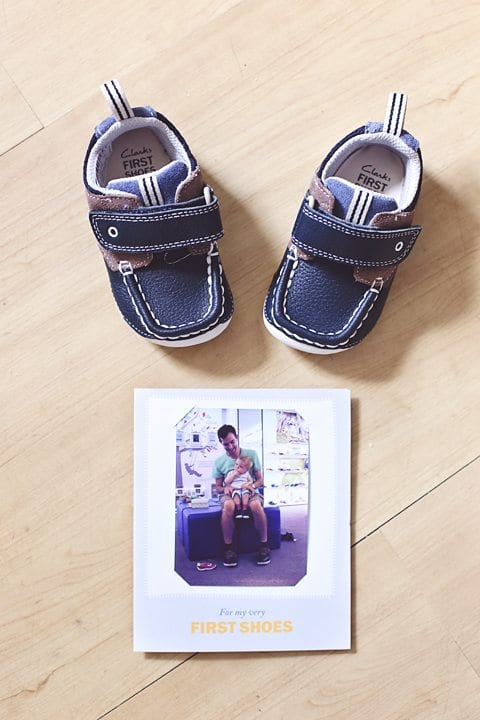 Clarks First Shoes Experience - Our