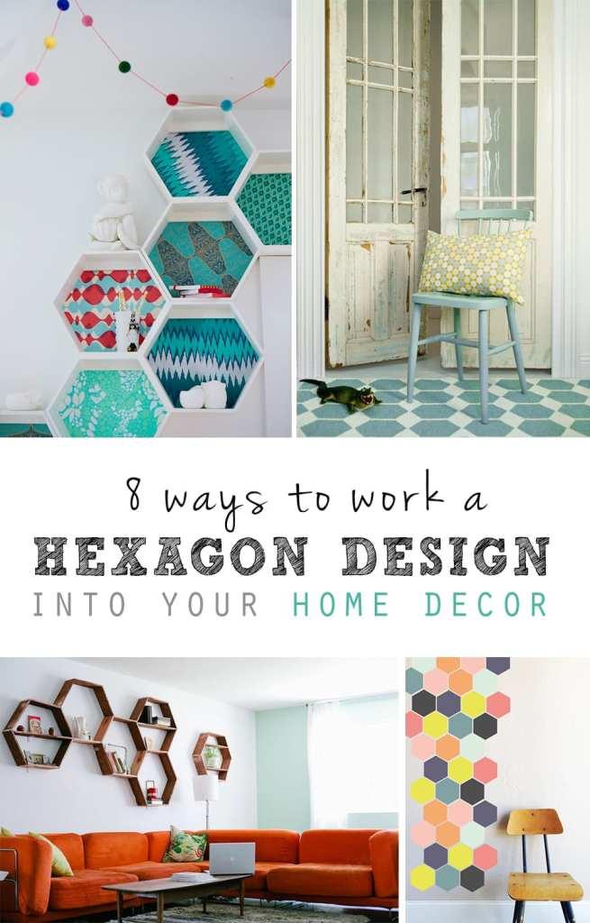 hexagon home decor