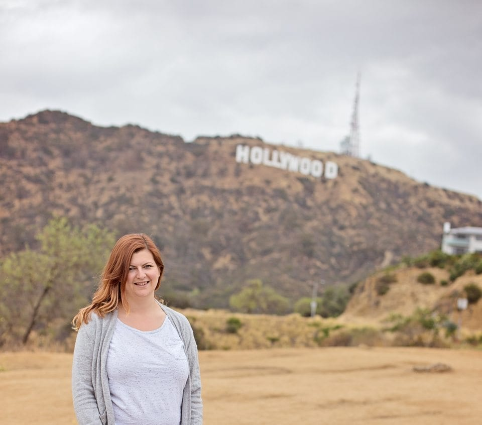 viewing the hollywood sign