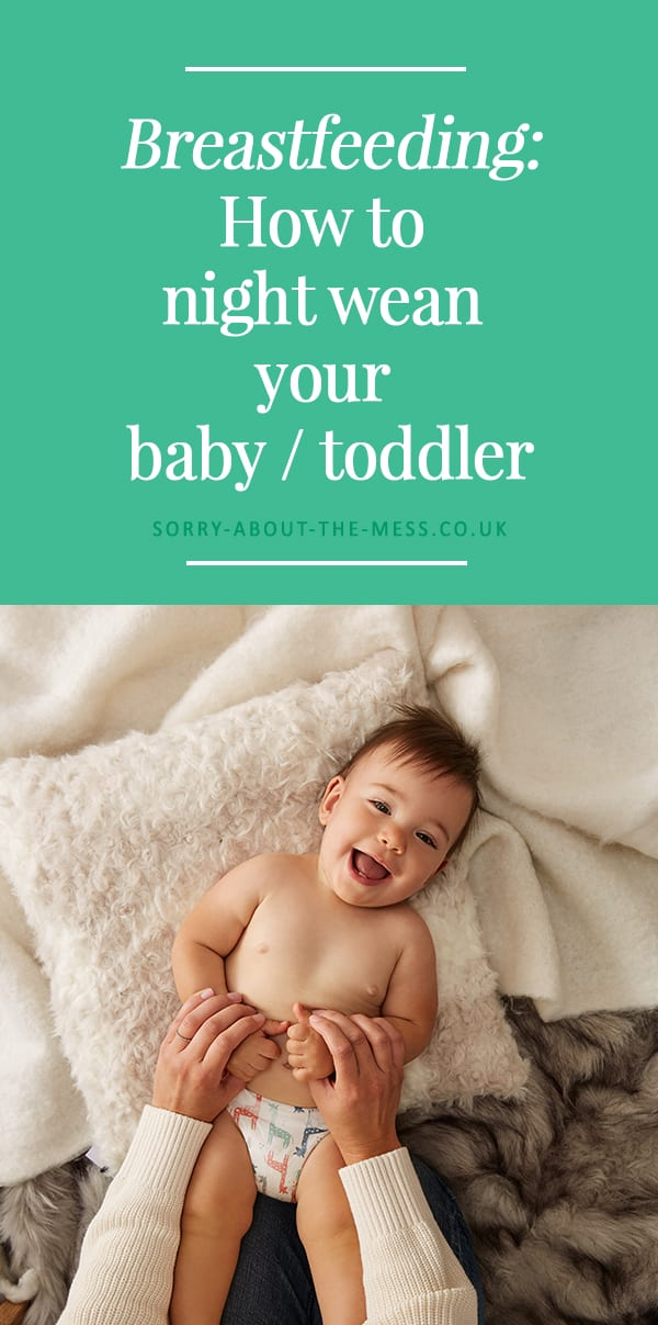 Breastfeeding: How to successfully night wean your baby or toddler with no tears or upset. Gentle and realistic night weaning tips from a mom who's done it three times. #babysleep #nightweaning #breastfeeding