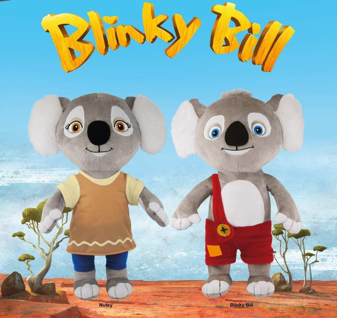 blinky bill toys