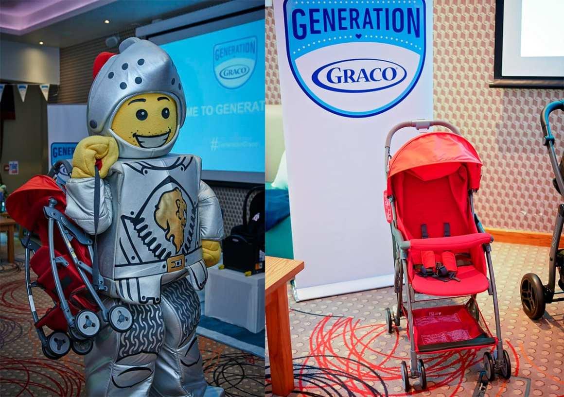 Graco Featherlight pushchair