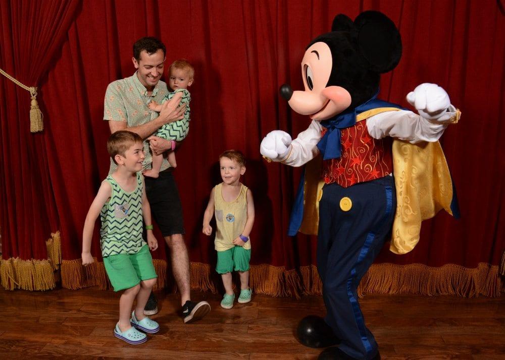 mickey mouse character meet magic kingdom disney world