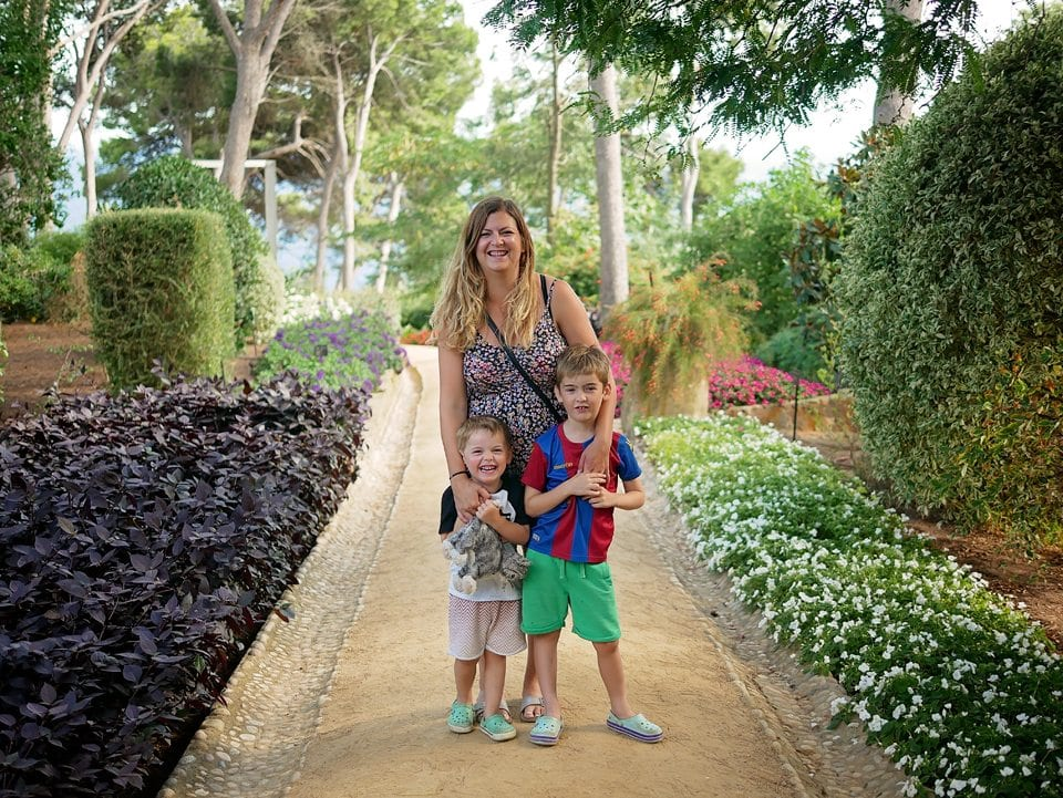 Cap roig botanical garden Spain