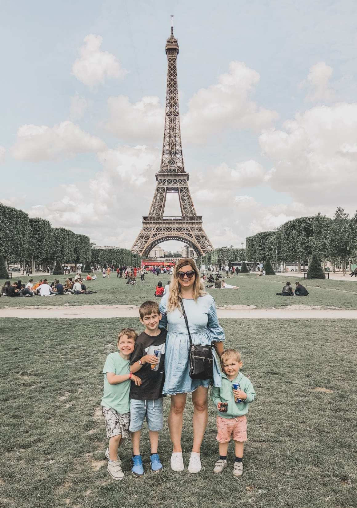 Paris with children