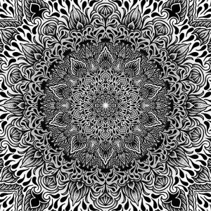 Impression Gravity dotwork par Romain Blvck