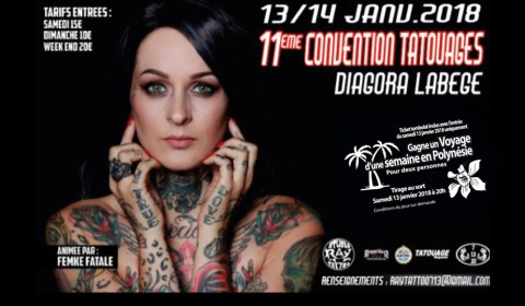 diagora labege convention tatouage toulouse 2018