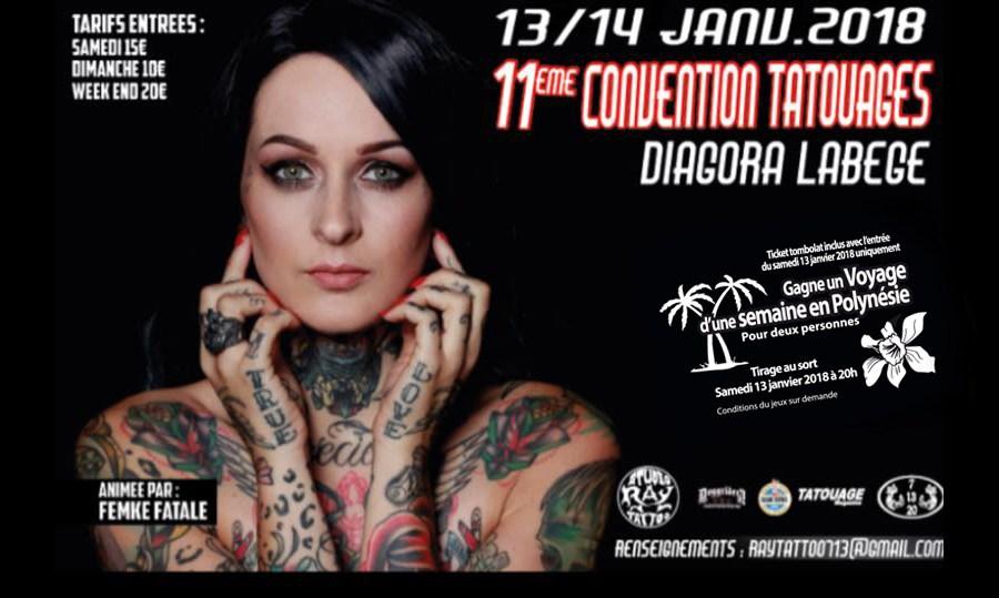 diagora labege convention tatouage toulouse 2018