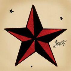 Dessin étoile nautique
