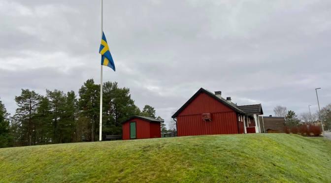 Vi flaggar för Klas