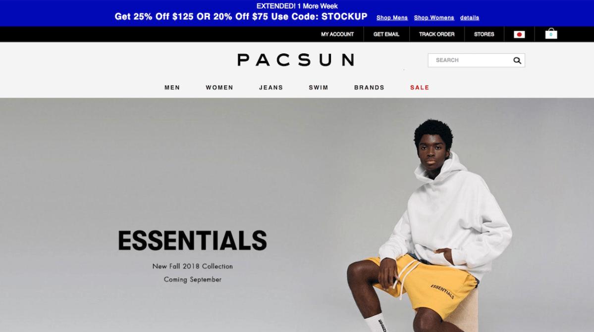 PACSUN〜会員登録から購入まで〜