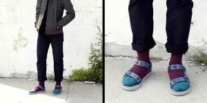 Socks with sandals? Well maybe if your socks are from the Woolrich x Teva line.