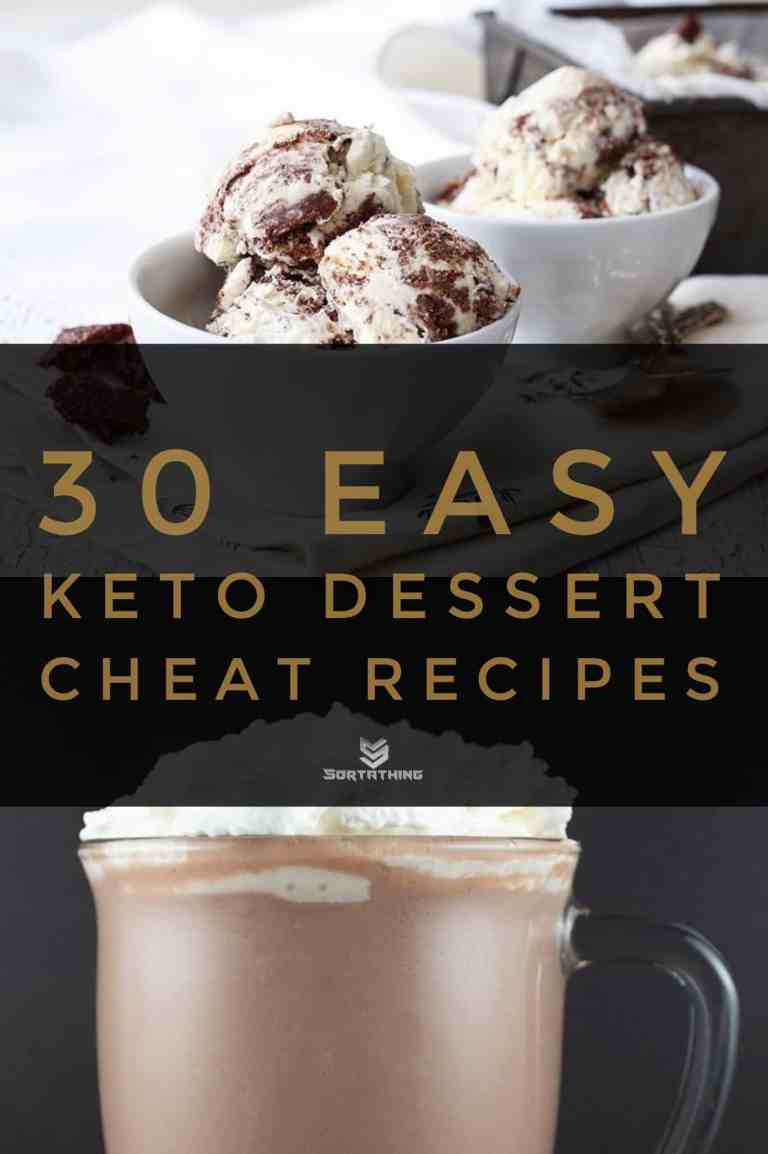 30 Easy Keto Dessert Recipes - Low Carb Sweets You'll Adore 2 - Sortathing