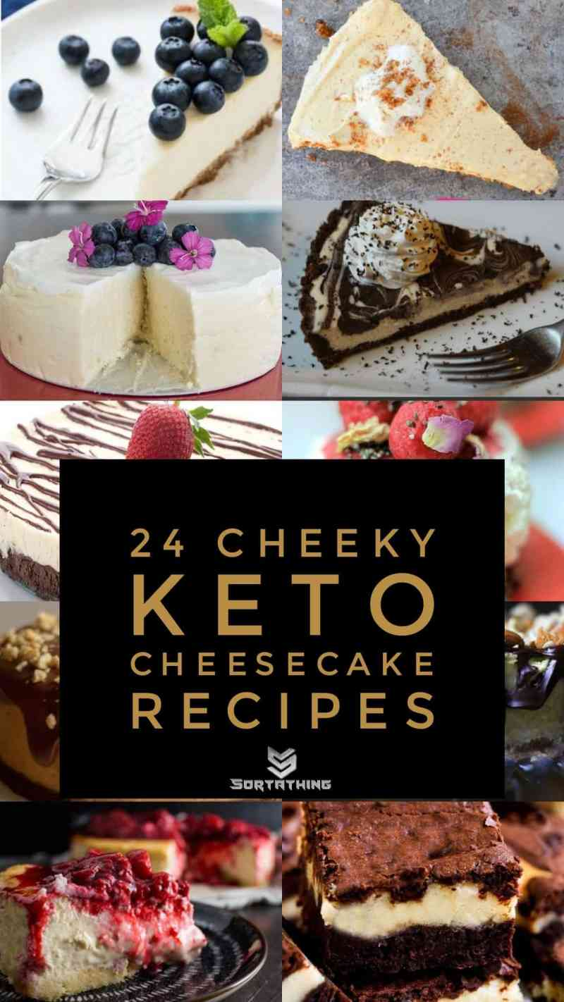 24 Cheeky Keto Cheesecake Recipes