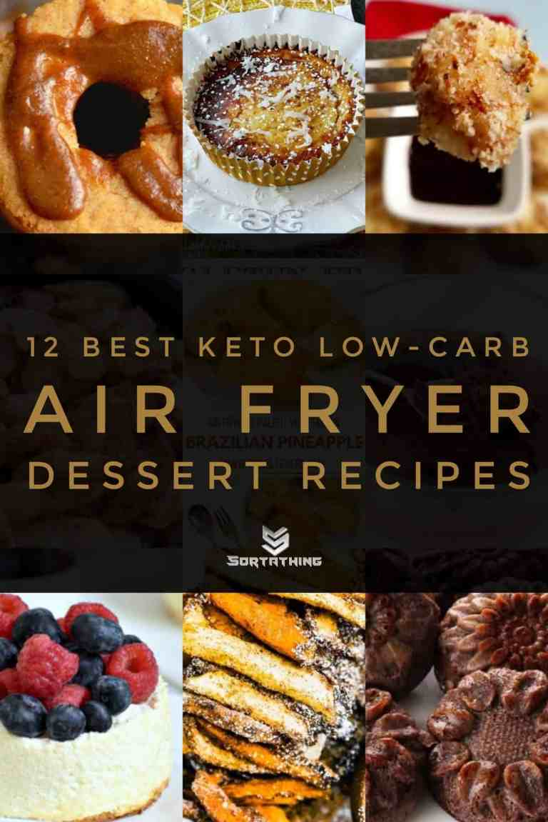 12 Best Air Fryer Dessert Recipes from Sortathing