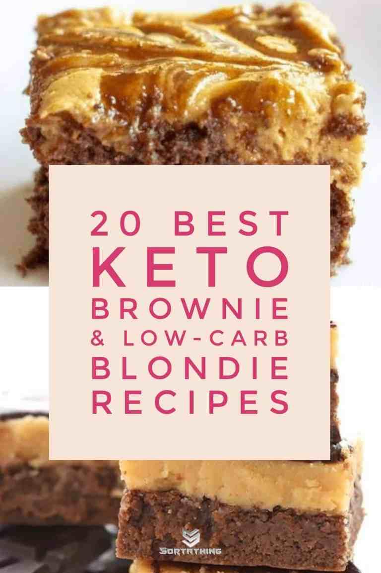 Caramel Macchiato & Peanut Butter Cheesecake Brownies