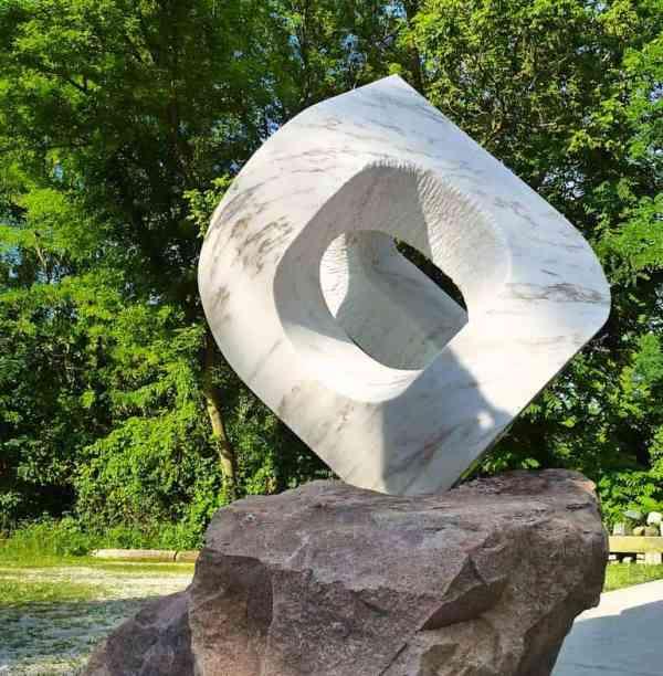 """UNCARVED BLOCK VT:TAI CHI"" - Original Artwork by Jon Barlow Hudson"