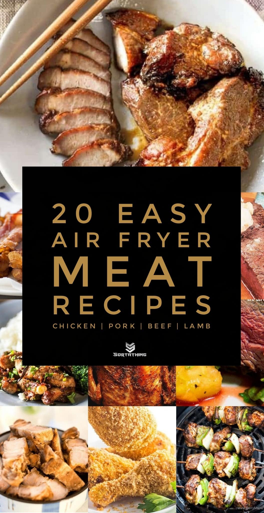 Air Fryer Recipes - cover