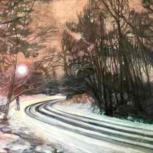 """A Bend in the Road"" - Open Edition Print by Lara Cobden"