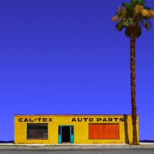 """CalTex Auto Parts, Coachella CA - Edition 6 of 9"" - Original Artwork by Ed Freeman"