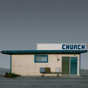"""Church, Mojave CA - Edition 4 of 9"" - Original Artwork by Ed Freeman"