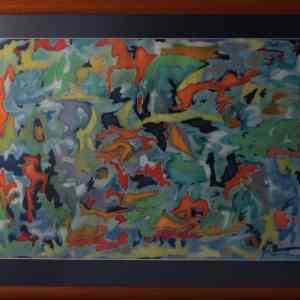 """Flora"" - Original Artwork by Roberto Yonkov"