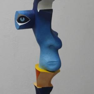 """""""Minotaur's Head"""" - Original Artwork by Frans Muhren"""