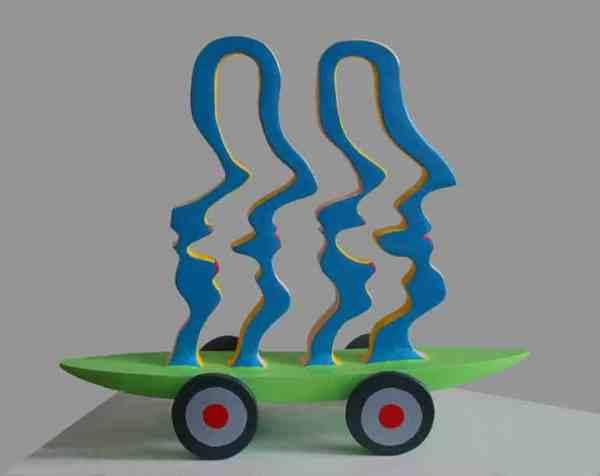 """Silhouettes"" - Original Artwork by Frans Muhren"