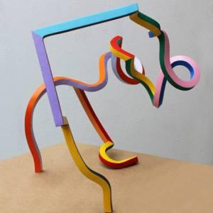 """Streamer 48"" - Original Artwork by Frans Muhren"