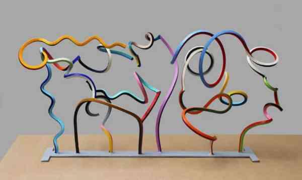 """Streamer 52"" - Original Artwork by Frans Muhren"