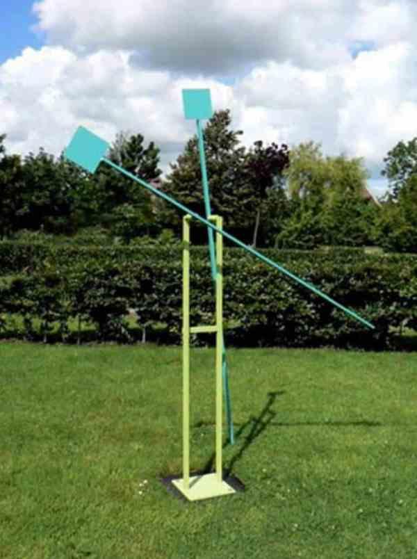 """WV 144, Kinetic Sculpture"" - Original Artwork by Michael Hischer"