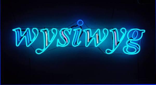 """wysiwyg"" - Original Artwork by Jacob Fishman"
