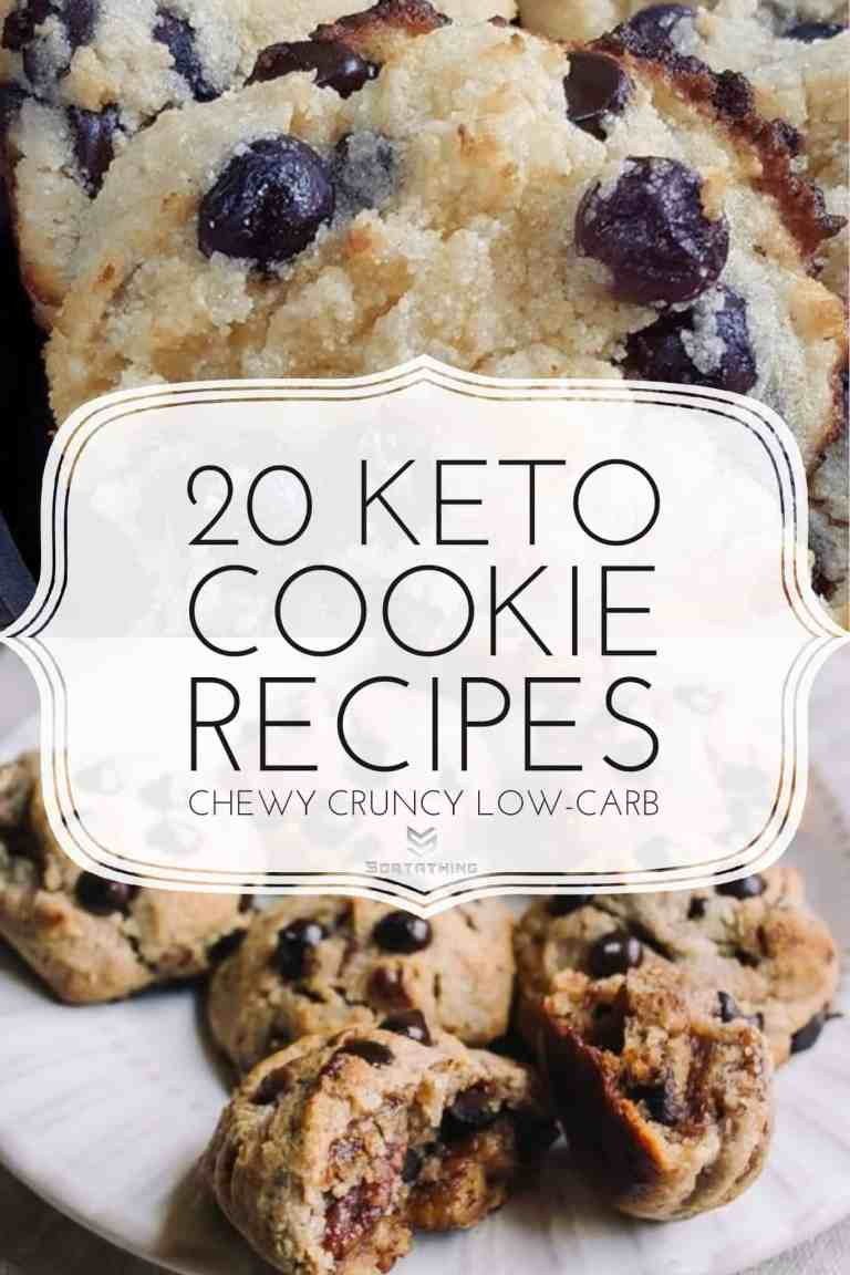 Blueberry Chocolate Chip Almond Cookies & Low Carb Candied Pecan Chocolate Chip Cookies