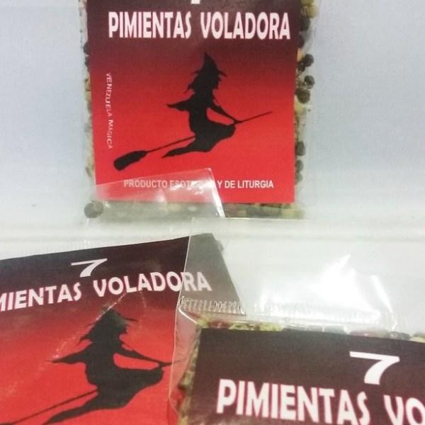 PAQUETE DE 7 PIMIENTAS VOLADORA