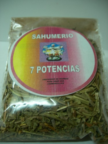 SAHUMERIO 7 POTENCIAS