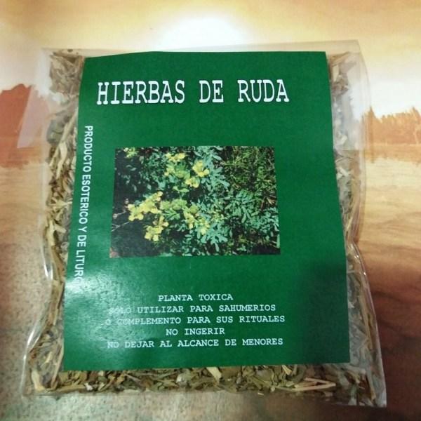 HIERBAS DE RUDA