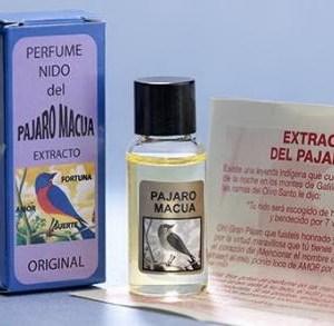 EXTRACTO NIDO DEL PAJARO MACUA (Amor y fortuna)