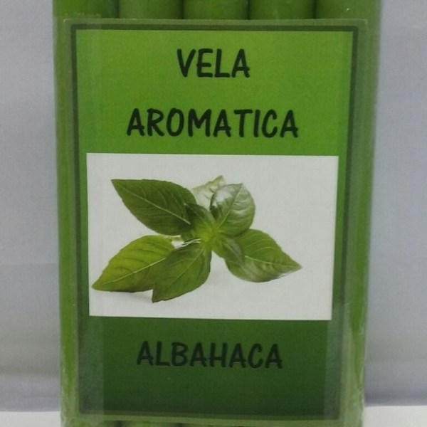 VELA AROMATICA ALBAHACA