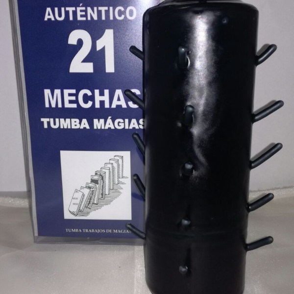 VELON 21 MECHAS NEGRO