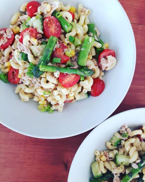 Salade de macaroni du THONnère
