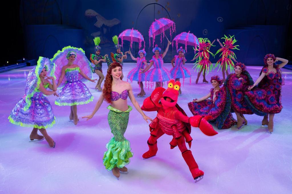 Ariel Disney sur Glace