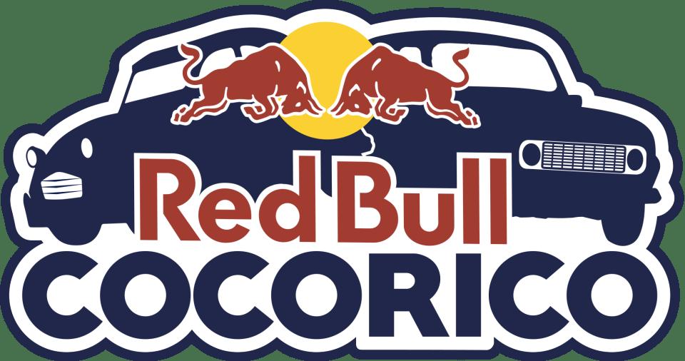 Logo du Red Bull Cocorico, rallye-raid dans les Alpes en 2CV et 4L