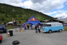 village départ circuit des glaces red bull cocorico 2016