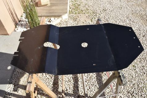 La plaque de protection du moteur en acier 2,5 mm