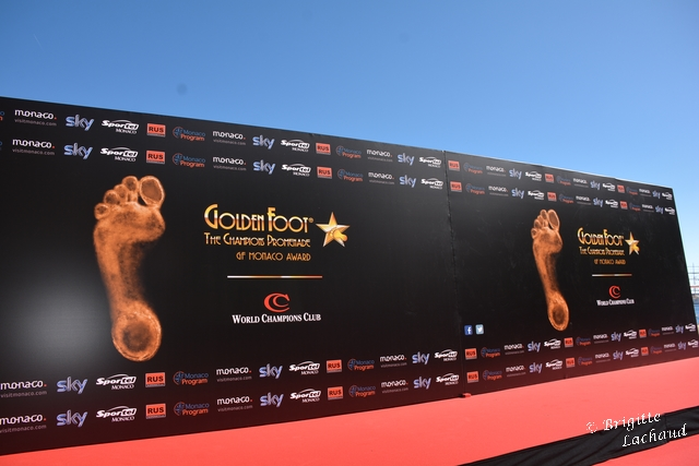 Golden foot Monaco