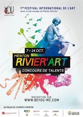 MENTON ACCUEILLE LE RIVIER'ART 2017