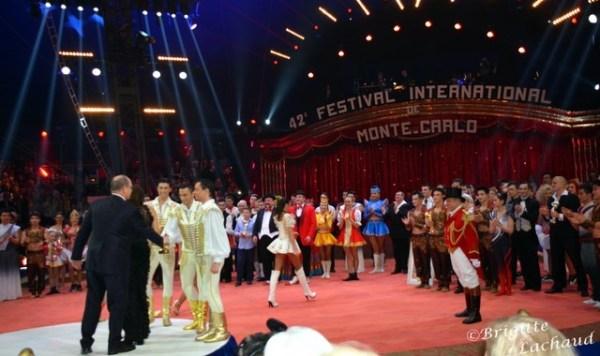 42e FESTIVAL INTERNATIONAL DU CIRQUE DE MONTE-CARLO 2018 - PALMARÈS