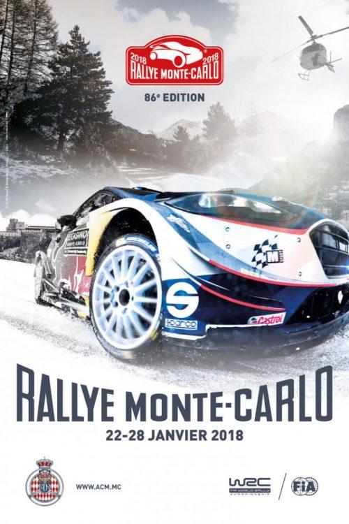 RALLYE DE MONTE-CARLO 2018