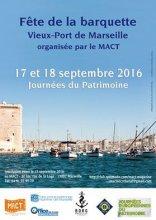"""JOURNEES DU PATRIMOINE - LES """"BARQUETTES"""" OU L'ART DE VIVRE A LA MARSEILLAISE"""